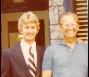 Kenn Reinhardt Sr. and Kenn Reinhardt Jr. circa 1975 image